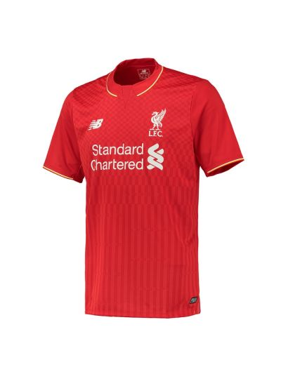 New Balance Liverpool Home Jersey Youth