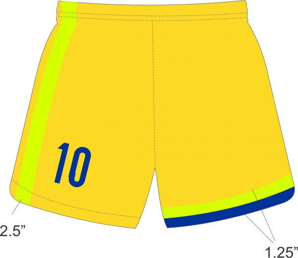 MP Elite Indoor GK Short Green