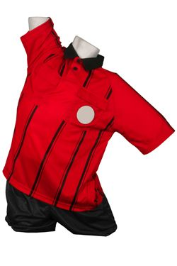 Kelme Premier Referee Jersey S/S Red