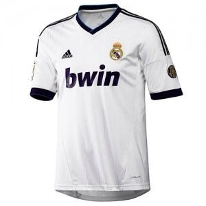 adidas Real Madrid Youth Home Jersey 2012