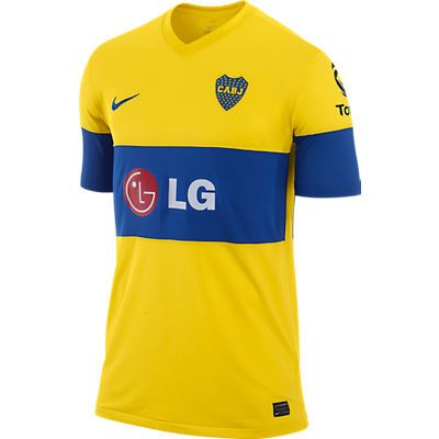 N Boca Away Jsy 2011-12 Yellow