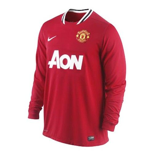 N MANU LS Home Jsy 2011-12 Red