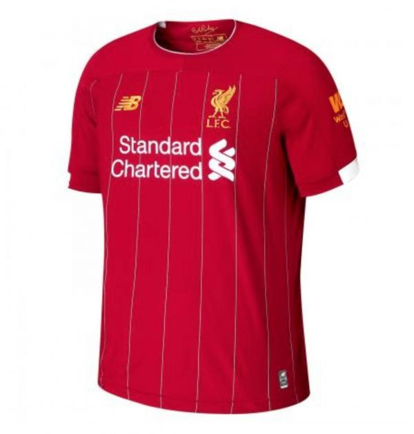 New Balance Youth Liverpool Home Jersey 19/20