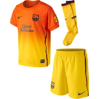 Nike Barcelona Mini-Kit Away 2012