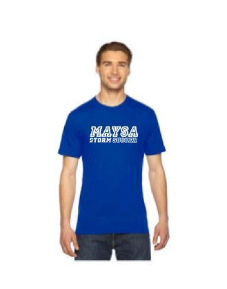 Maysa 23 SS Jersey American Apparel Royal