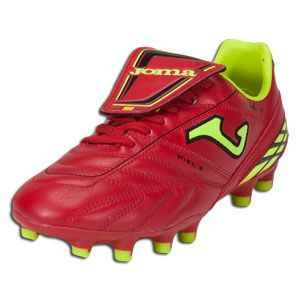 Joma Cordoba 2011 106 Red/Lime Firm Ground Soccer Shoes