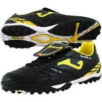 Joma Cordoba TF 2011 109 Black/Yellow Turf Soccer Shoes