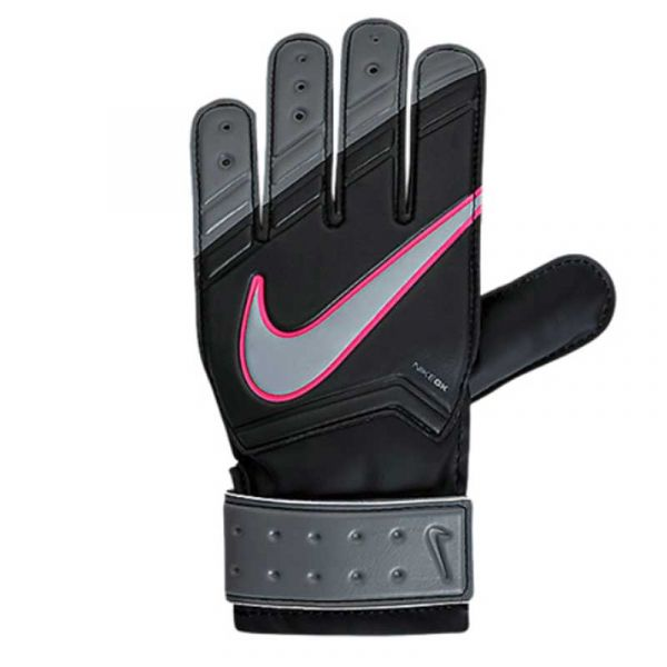 N JR Match Goalkeeper Black Pink