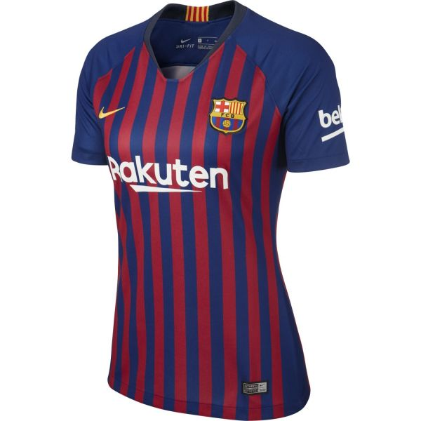 Nike Breathe FC Barcelona Home Stadium Women's Short-Sleeve Jersey
