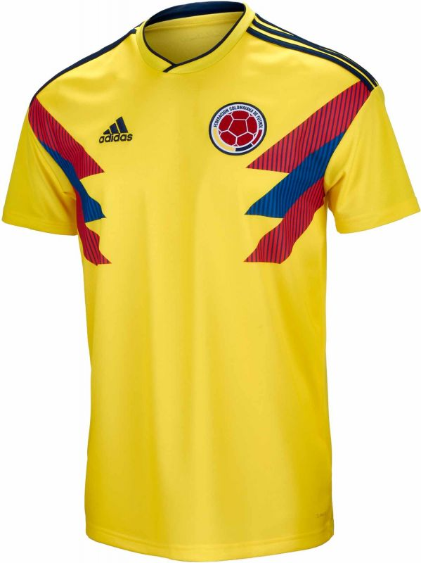 adidas Men's Colombia Home Jersey 17/18