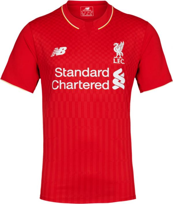 New Balance Liverpool Home Jersey 15