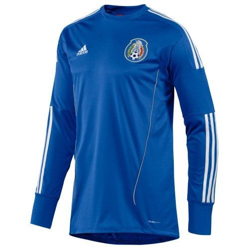 adidas Mexico Home Goalkeeper Jersey Blue