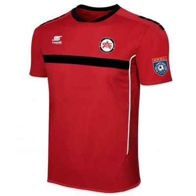 Capelli Atlanta Silverbacks Adult Red Authentic Jersey 2016
