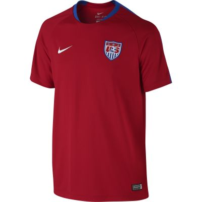 Nike USA Flash Top Red Youth