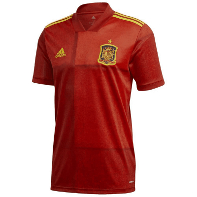 adidas Men's Spain Home Jersey 2019