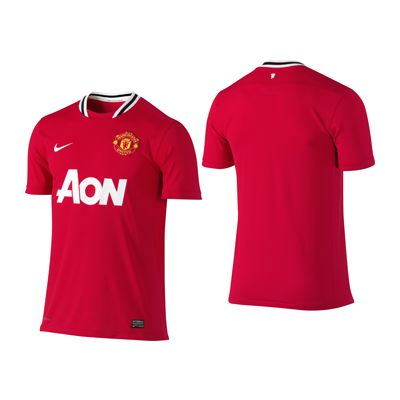 Nike Manchester United Home Boys Jersey 2011