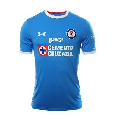 Under Armour Cruz Azul Men's Home Soccer Jersey 2016