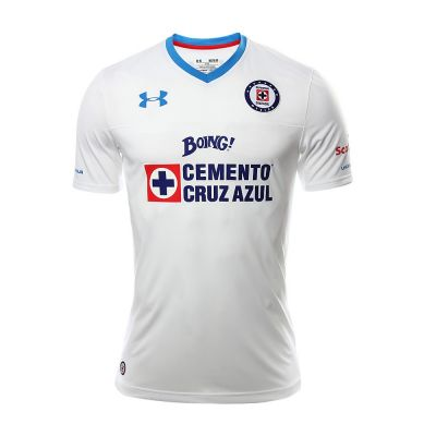 Under Armour Cruz Azul Away Men's 2016 White Jersey