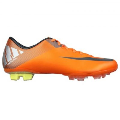 Nike Mercurial Miracle II FG Orange/Silver Firm Ground Soccer Shoes