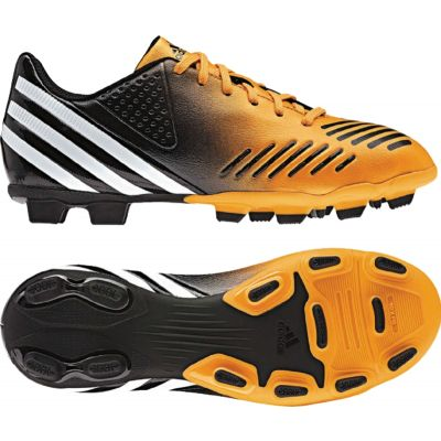 adidas Predito LZ Trx FG Gold-Black  Youth Firm Ground Soccer Shoes