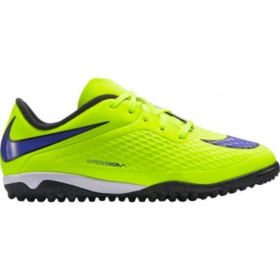 Nike Kids' JR Hypervenom Phelon TF Competition Artificial Grass Football Boots