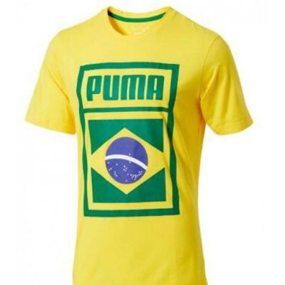Puma World Cup Forever Football Country Cotton Tee