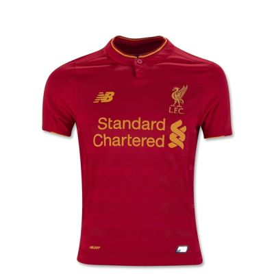 New Balance Liverpool Home Youth Jersey 16/17