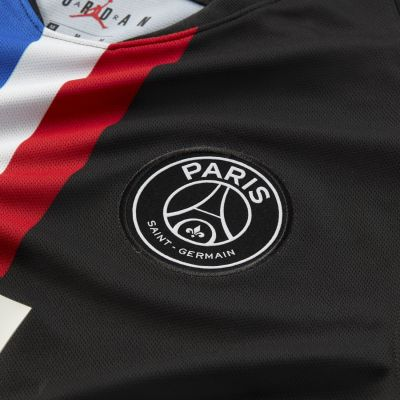 Nike Jordan x Paris Saint-Germain 2019/20 Stadium Fourth Men's Soccer Jersey