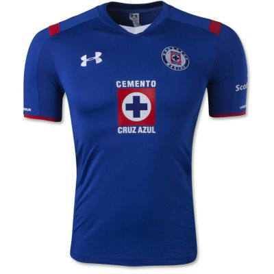 Under Armour Cruz Azul Home Jersey 2015