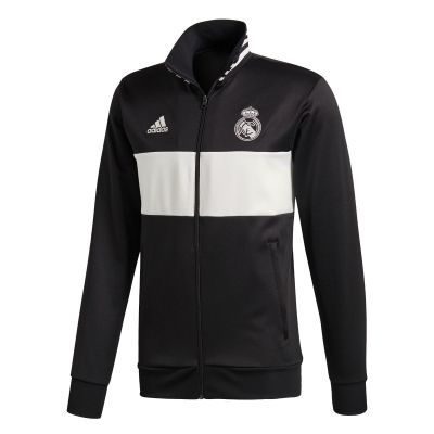 adidas Men Real Madrid 3-Stripes Track Jacket