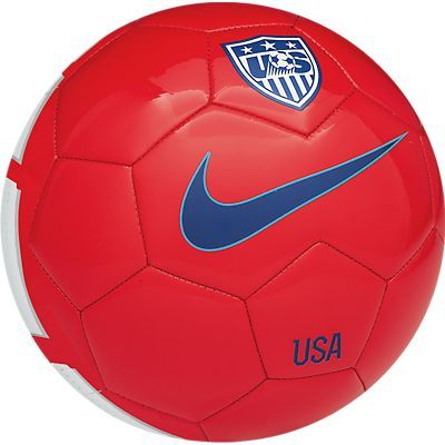 Nike USA Supporters Soccer Ball -Red/White